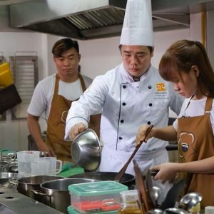 kỹ năng nấu ăn trong khóa học