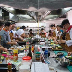 lớp học nấu ăn ở sài gòn