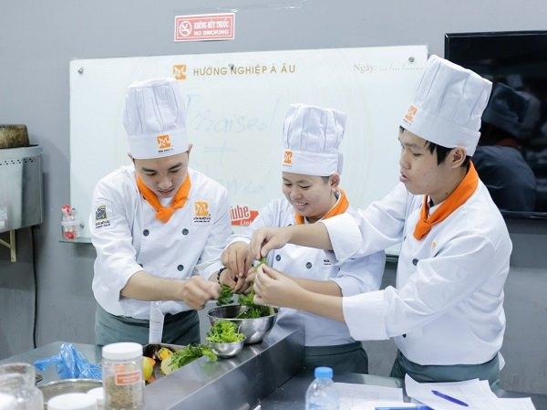 lớp học nấu ăn chay chuyên nghiệp