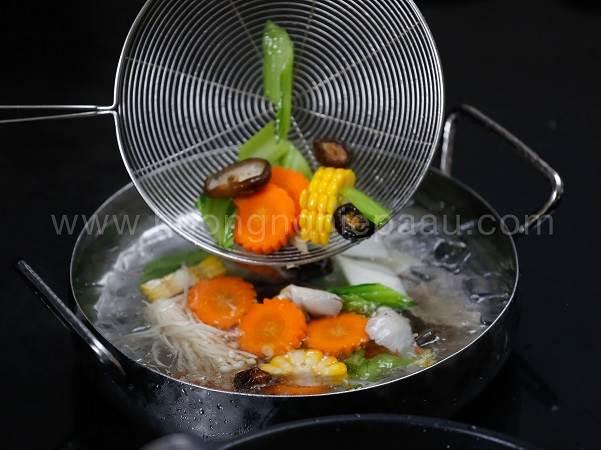 học kỹ năng nấu món chay