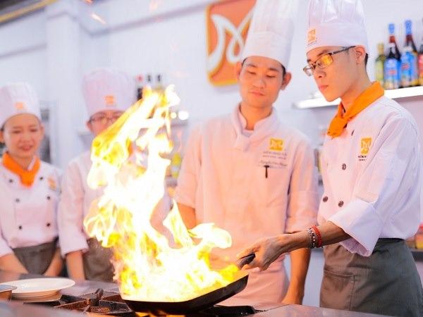 ước mở trở thành đầu bếp nhiều bạn trẻ